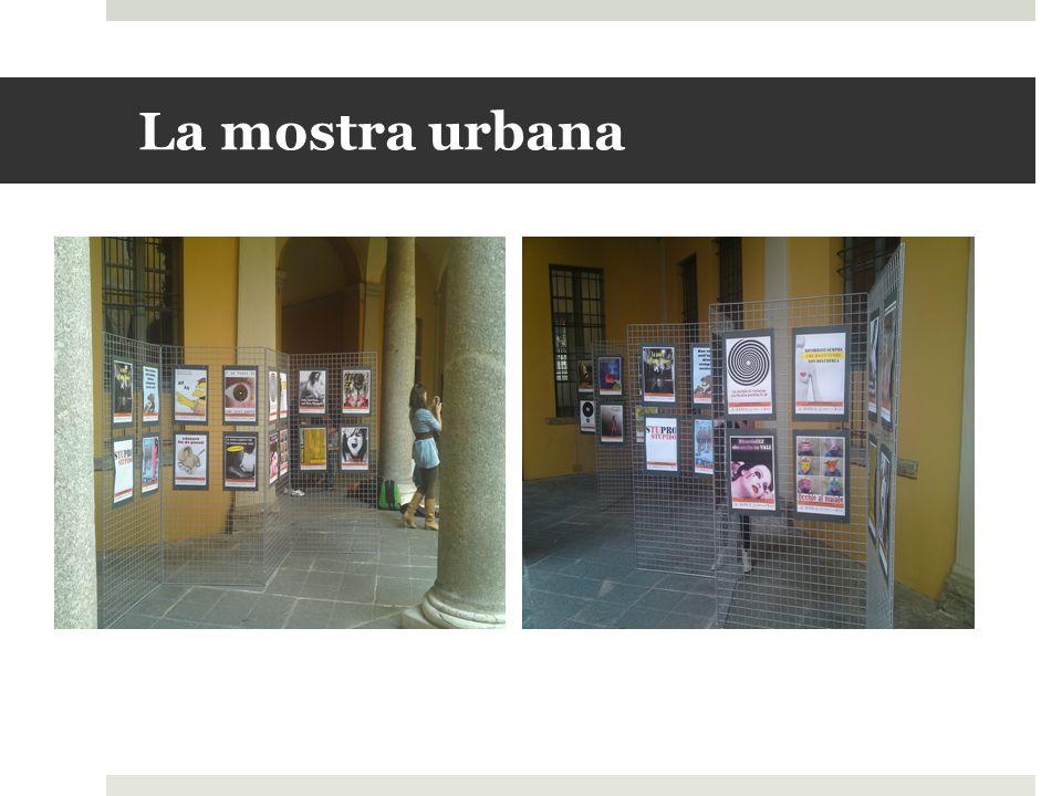 La mostra urbana
