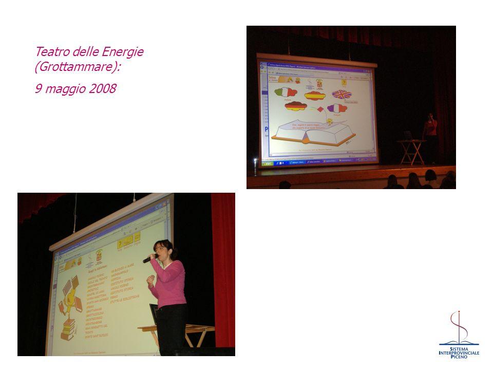 Iommi, Bologna-Roma 2008 Teatro delle Energie (Grottammare): 9 maggio 2008