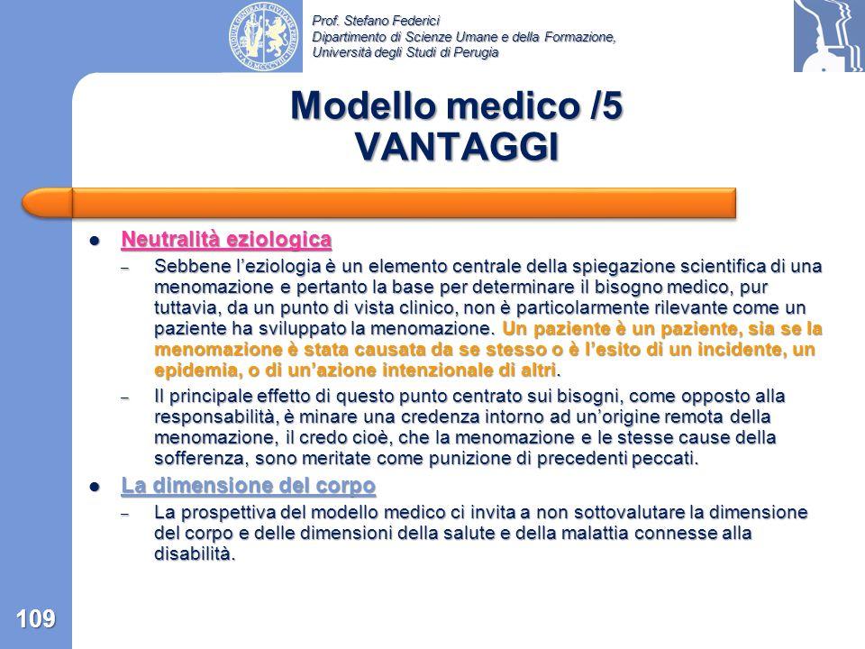 Prof. Stefano Federici Dipartimento di Scienze Umane e della Formazione, Università degli Studi di Perugia Ruolo sociale inappropriato e stigmatizzant