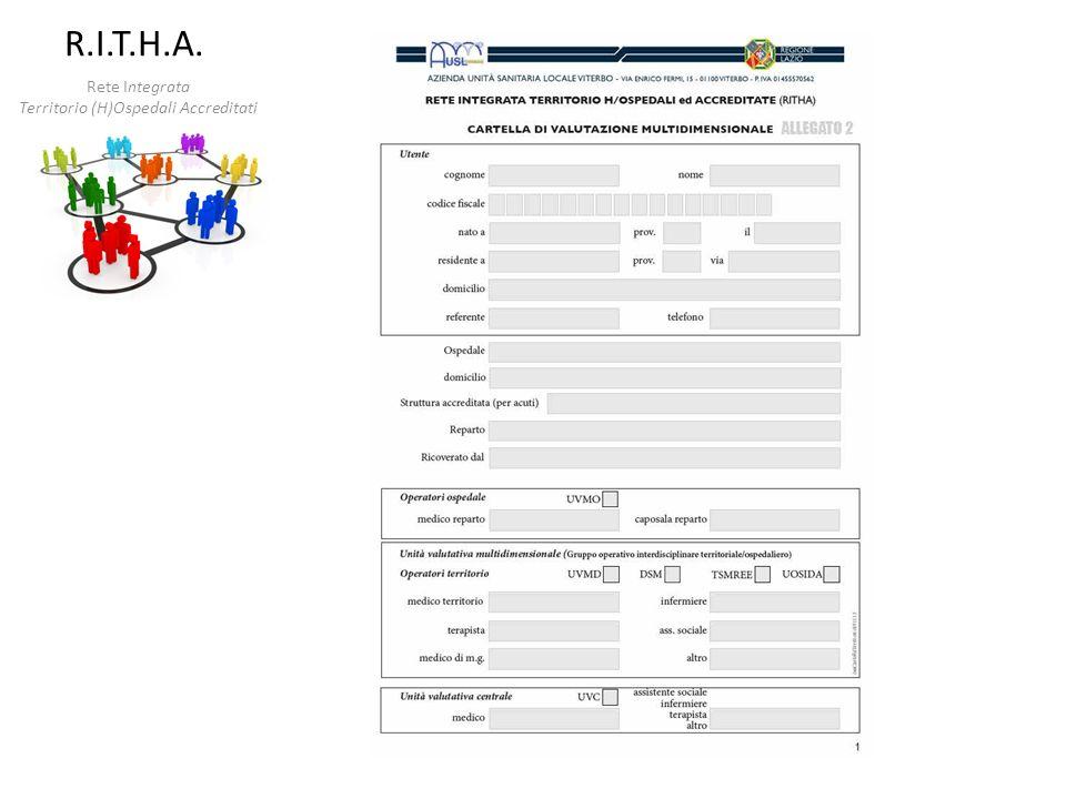 Rete Integrata Territorio (H)Ospedali Accreditati R.I.T.H.A.