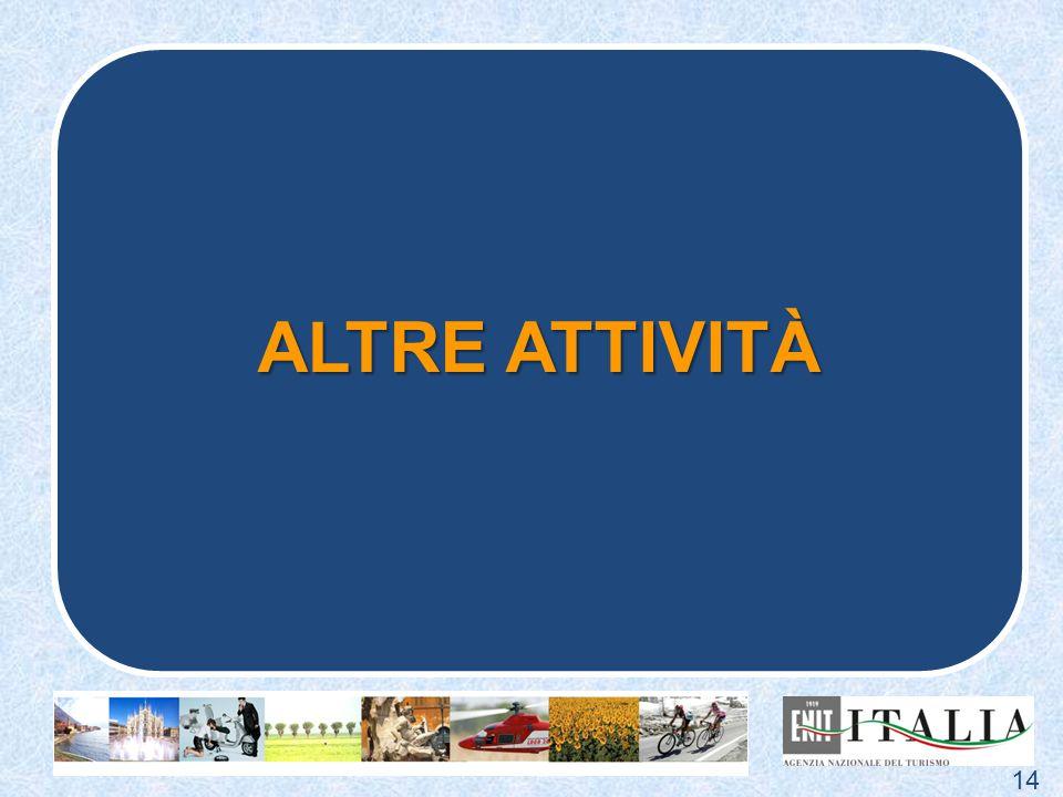 ALTRE ATTIVITÀ 14