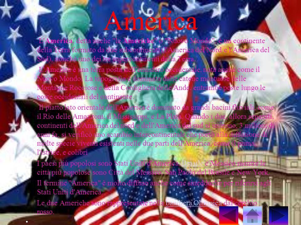 America L'America, detta anche