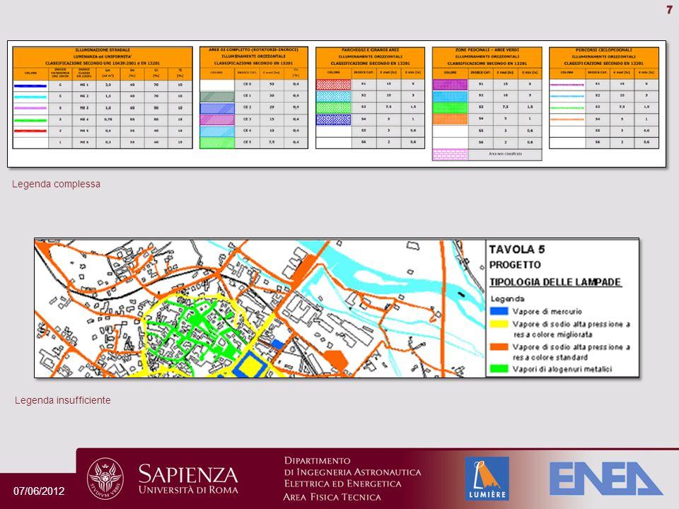 Perché è importante progettare la luce Conformità alle normative Contenimento dei costi Riduzione dellimpatto ambientale Miglioramento servizio per il cittadino Valorizzazione del territorio Verso la Smart City 07/06/2012