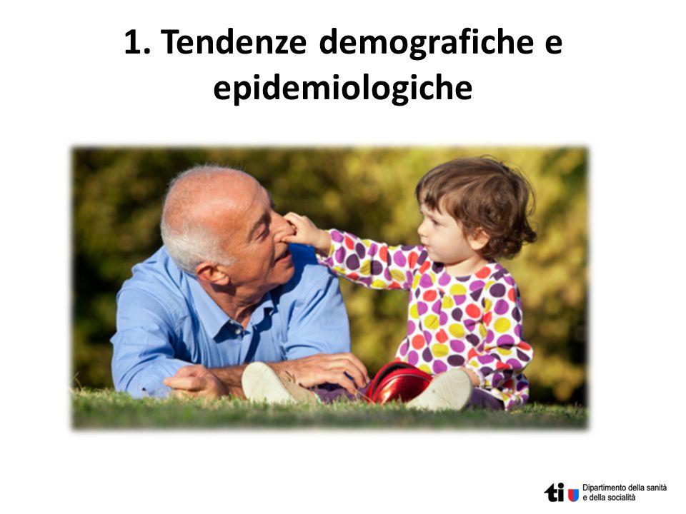 1. Tendenze demografiche e epidemiologiche