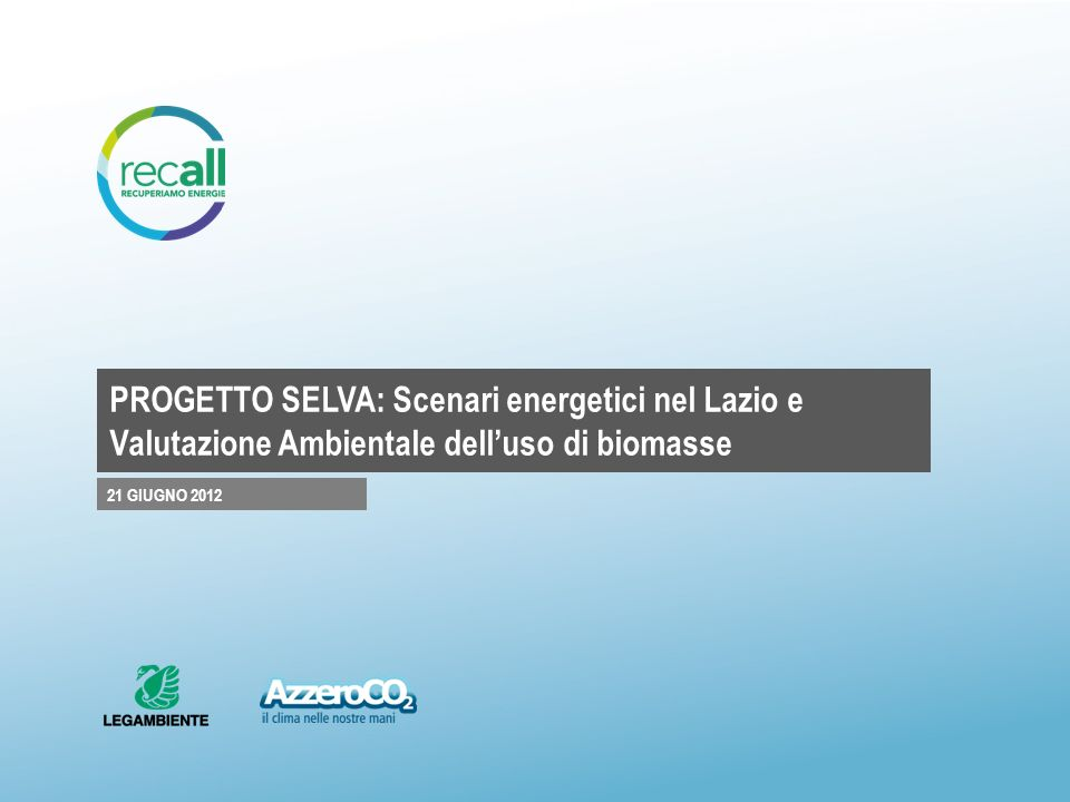 LA DIRETTIVA 28/CE/2009 IN EUROPA 1.Gli obiettivi fissati dalla direttiva 28/CE/2009 comportano limplementazione di un ampio spettro di interventi nel settore delle fonti rinnovabili elettriche e termiche dei biocarburanti e del risparmio energetico.