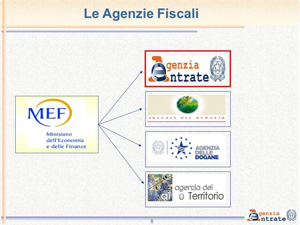 8 Le Agenzie Fiscali