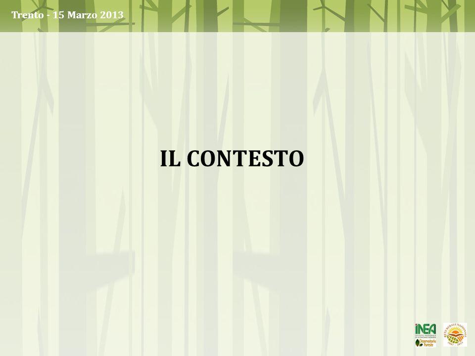IL CONTESTO Trento - 15 Marzo 2013