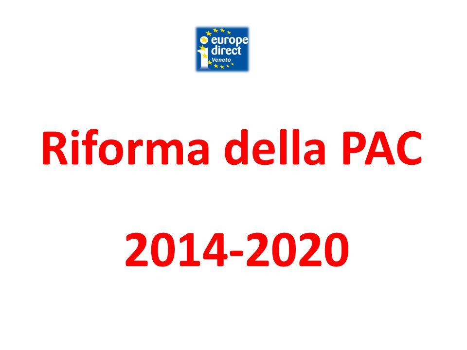 Riforma della PAC 2014-2020