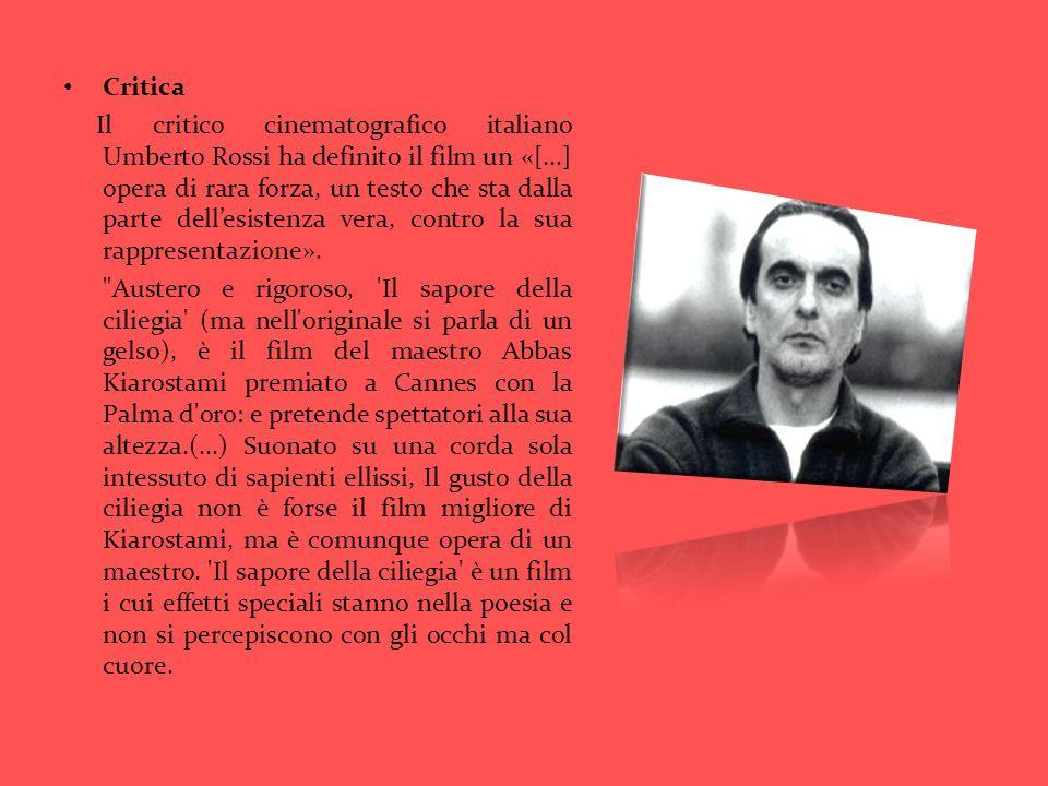Critica Il critico cinematografico italiano Umberto Rossi ha definito il film un «[...] opera di rara forza, un testo che sta dalla parte dellesistenz