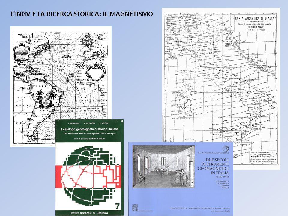 LINGV E LA RICERCA STORICA: IL MAGNETISMO