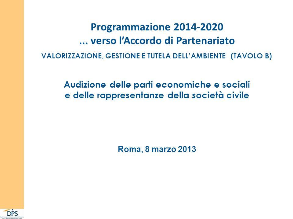 Programmazione 2014-2020...