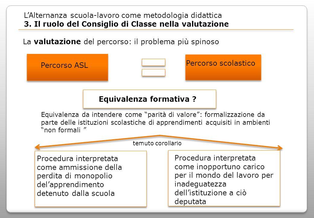 LAlternanza scuola-lavoro come metodologia didattica 3.