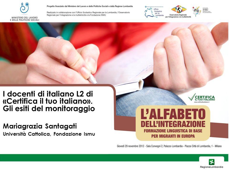 I docenti di italiano L2 di «Certifica il tuo italiano».