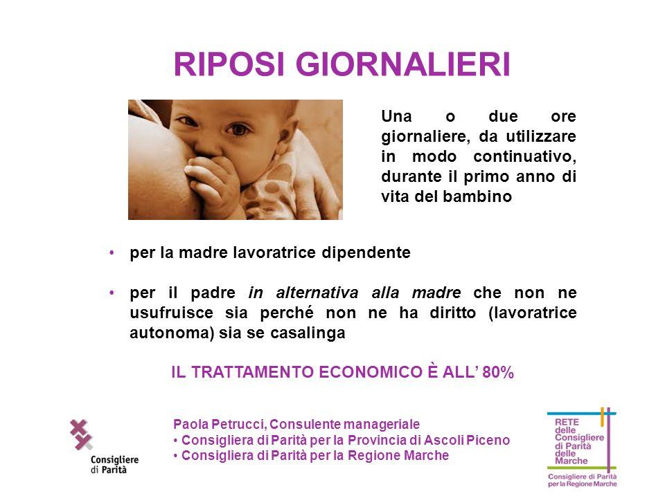 Paola Petrucci, Consulente manageriale Consigliera di Parità per la Provincia di Ascoli Piceno Consigliera di Parità per la Regione Marche per la madr