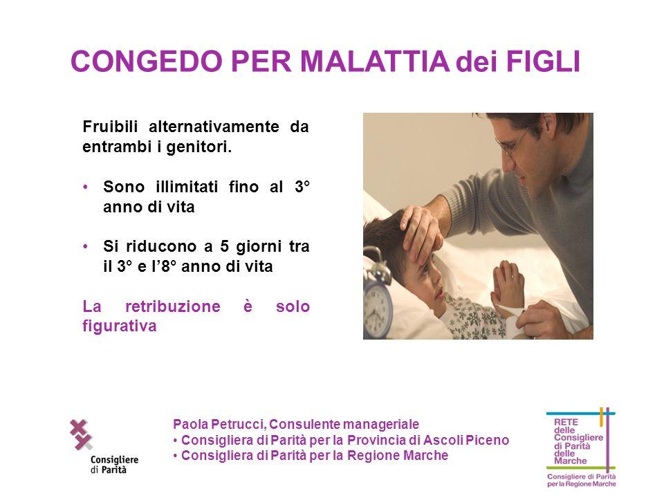 Paola Petrucci, Consulente manageriale Consigliera di Parità per la Provincia di Ascoli Piceno Consigliera di Parità per la Regione Marche Fruibili al