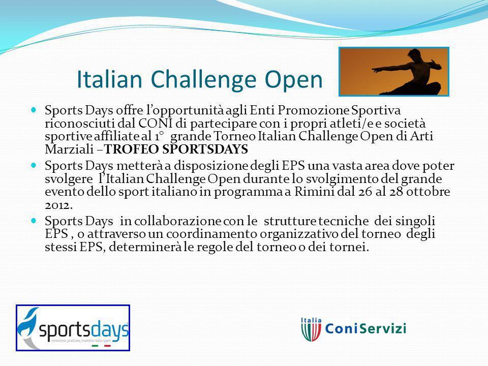 Italian Challenge Open Programma: 26 ottobre : Torneo Amatoriale cat.