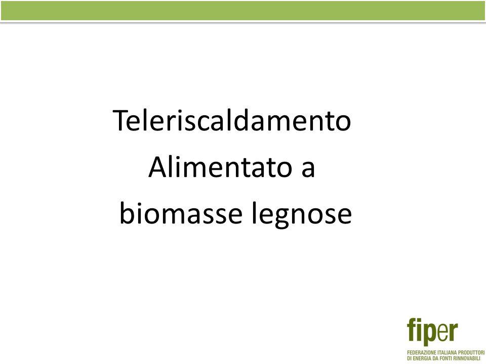 Teleriscaldamento Alimentato a biomasse legnose