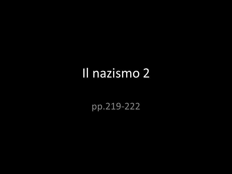 Il nazismo 2 pp.219-222