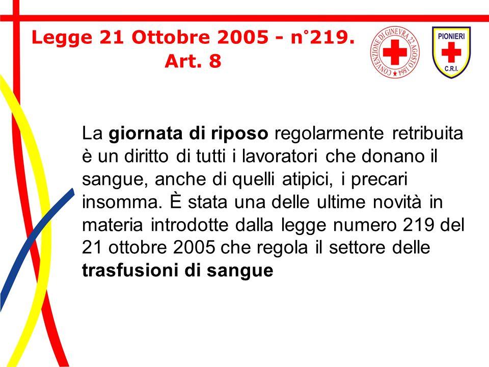Legge 21 Ottobre 2005 - n°219.Art.
