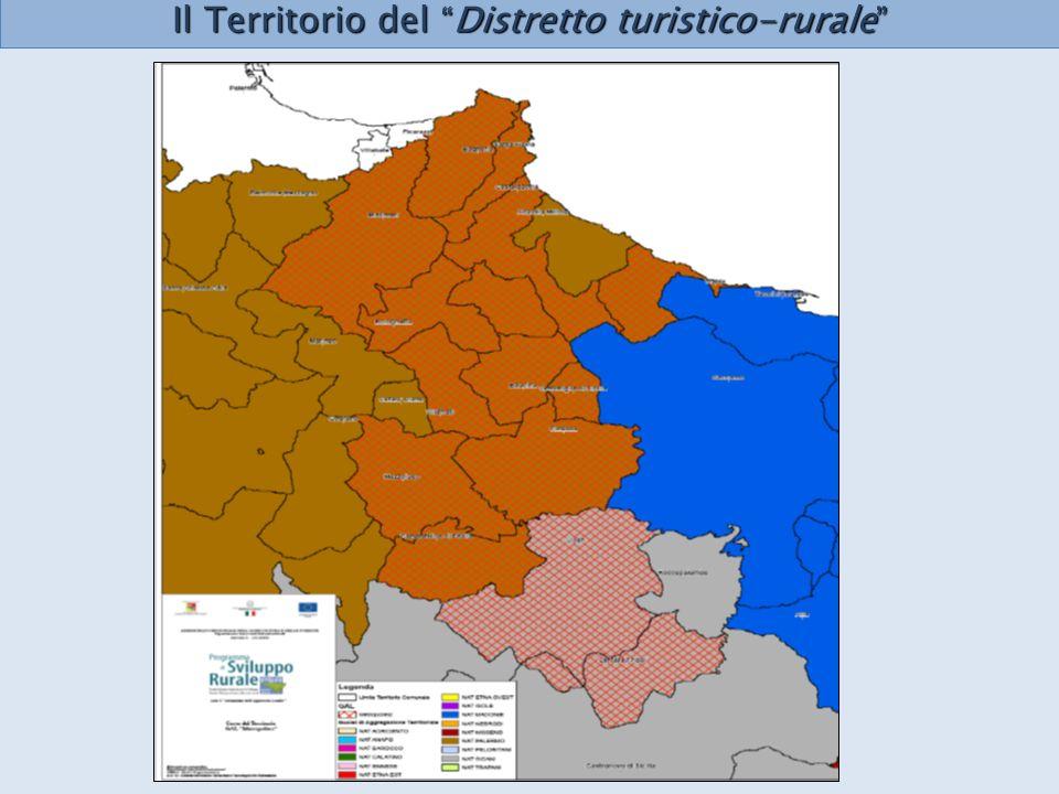 Il Territorio del Distretto turistico-rurale