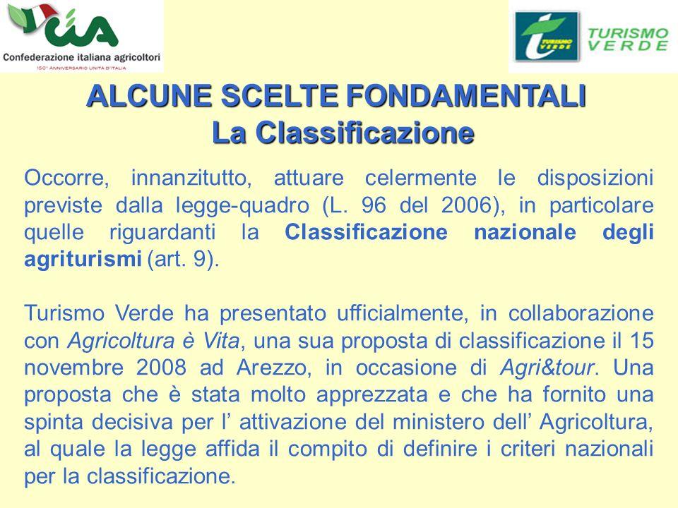 Occorre, innanzitutto, attuare celermente le disposizioni previste dalla legge-quadro (L.