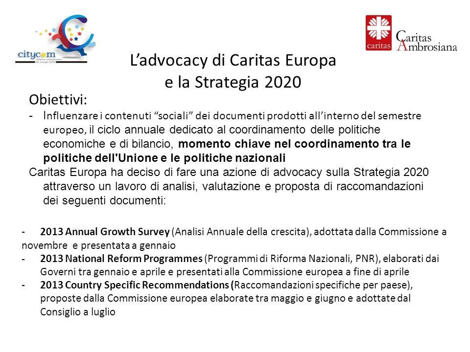 Lannual Growth Survey: documento della Commissione in cui vengono presentate le priorità per lUE per i successivi 12 mesi per implementare la Strategia 2020.