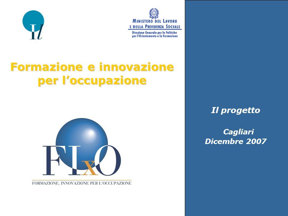 Il progetto Cagliari Dicembre 2007 Formazione e innovazione per loccupazione