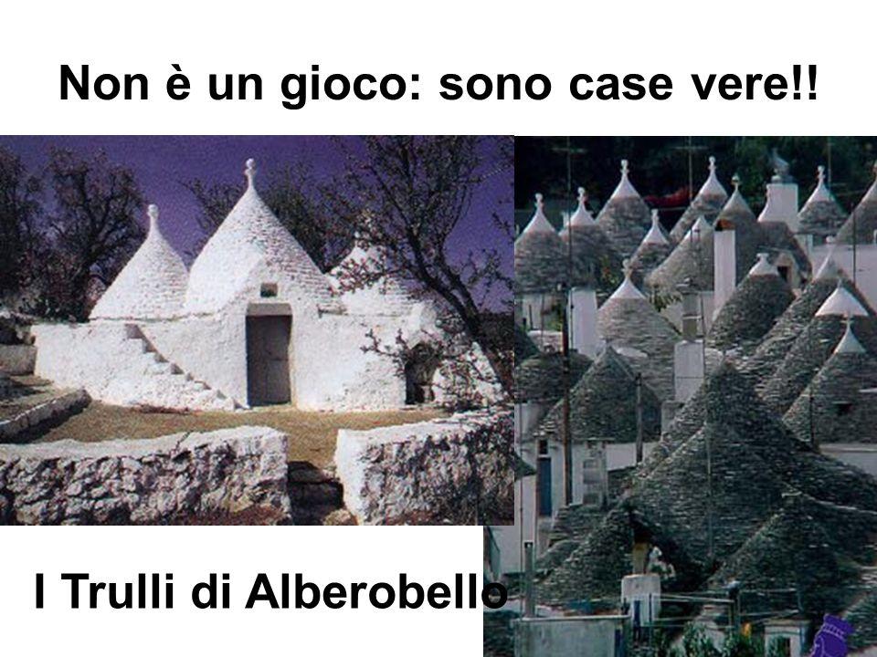 Non è un gioco: sono case vere!! I Trulli di Alberobello
