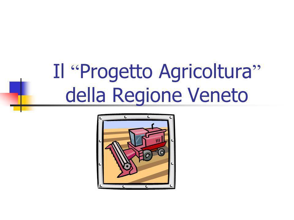 Il Progetto Agricoltura della Regione Veneto