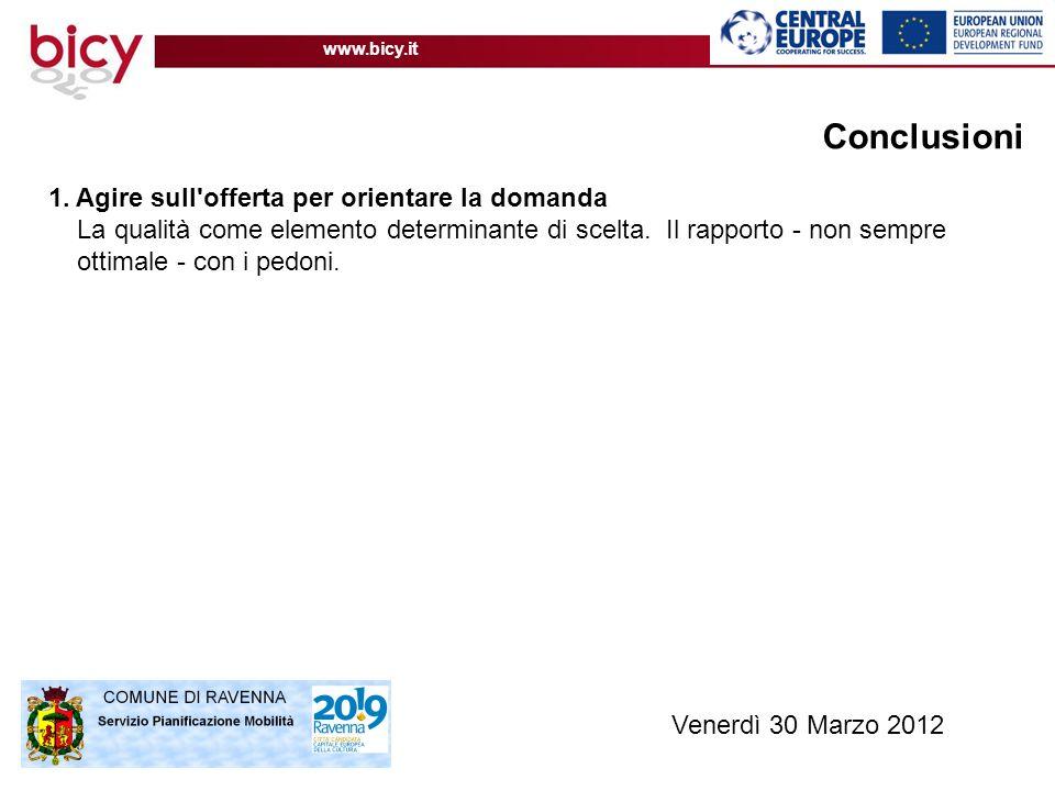 www.bicy.it Conclusioni 1.