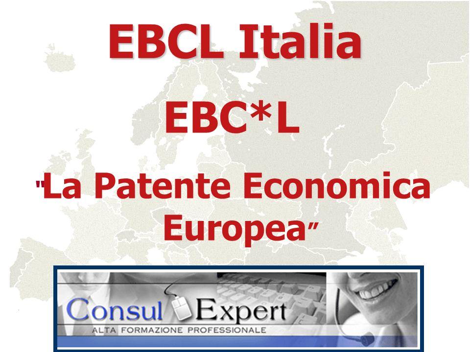 EBC*L La Patente Economica Europea EBCL Italia