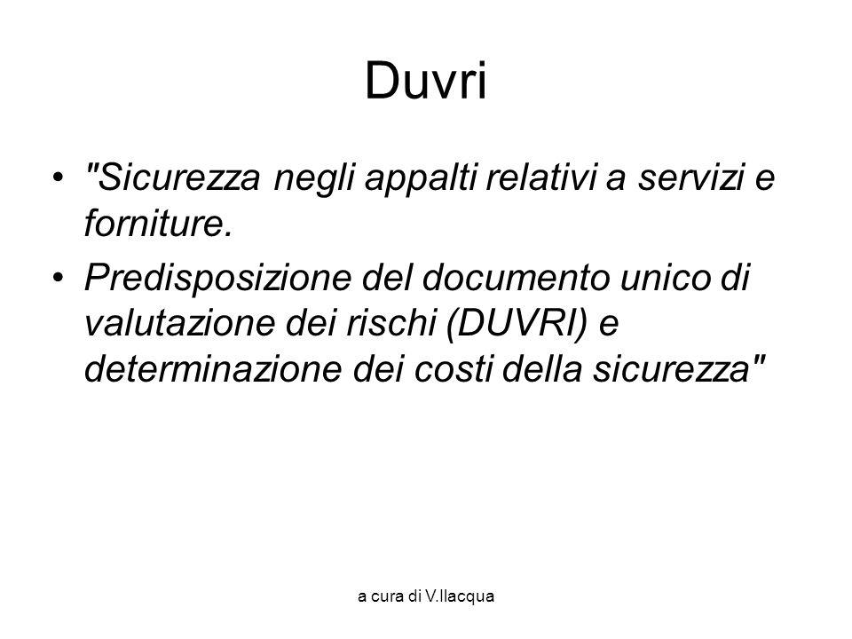 a cura di V.Ilacqua Duvri