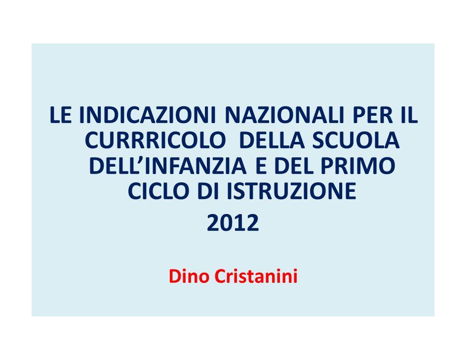 PERCHE VENGONO EMANATE LE INDICAZIONI DPR 275/1999 (Regolamento autonomia) – art.