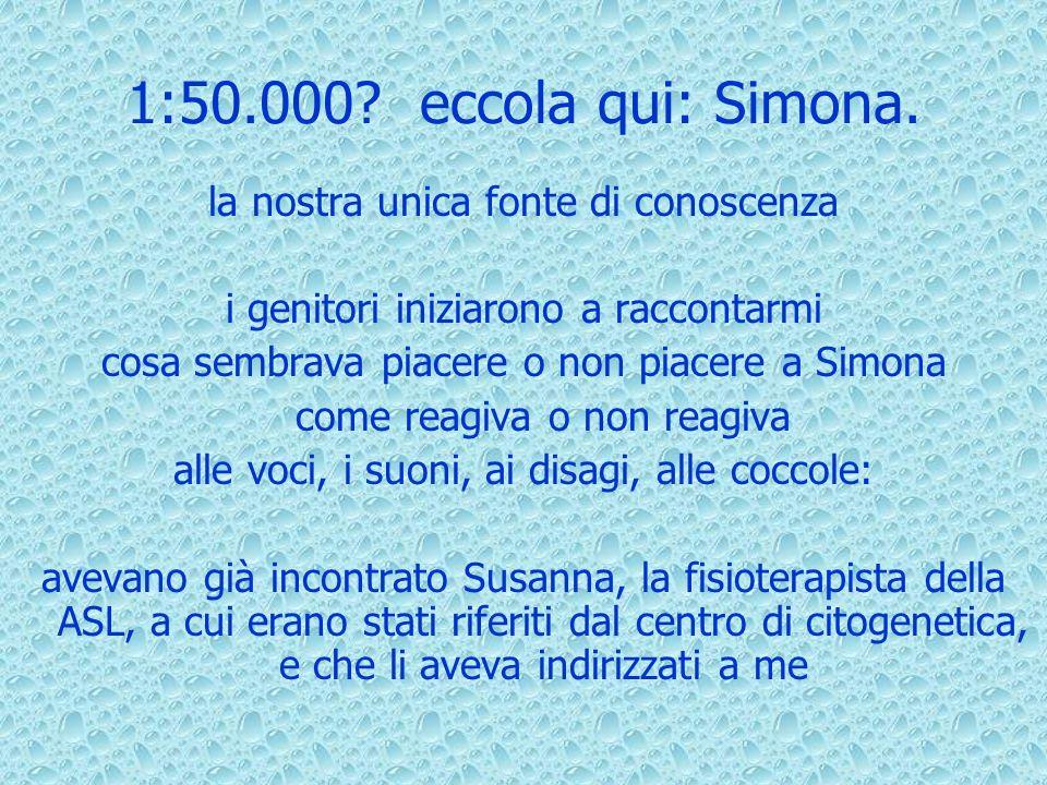 1:50.000.eccola qui: Simona.