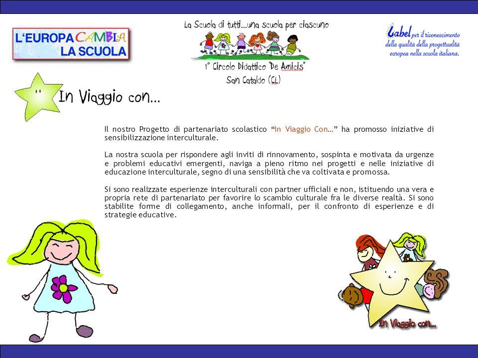 Il nostro Progetto di partenariato scolastico In Viaggio Con… ha promosso iniziative di sensibilizzazione interculturale.