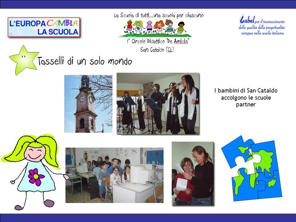 I bambini di San Cataldo accolgono le scuole partner