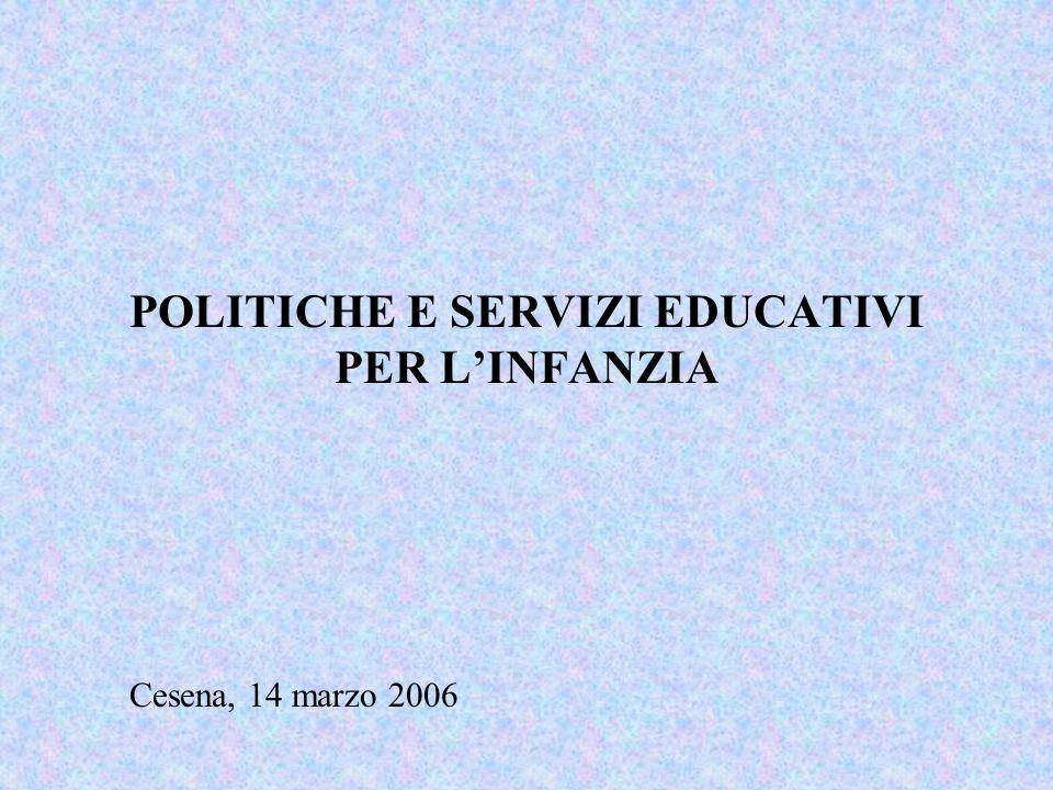 Servizi educativi 0-3 anni * Servizi integrativi: Spazi bambini - a.s.