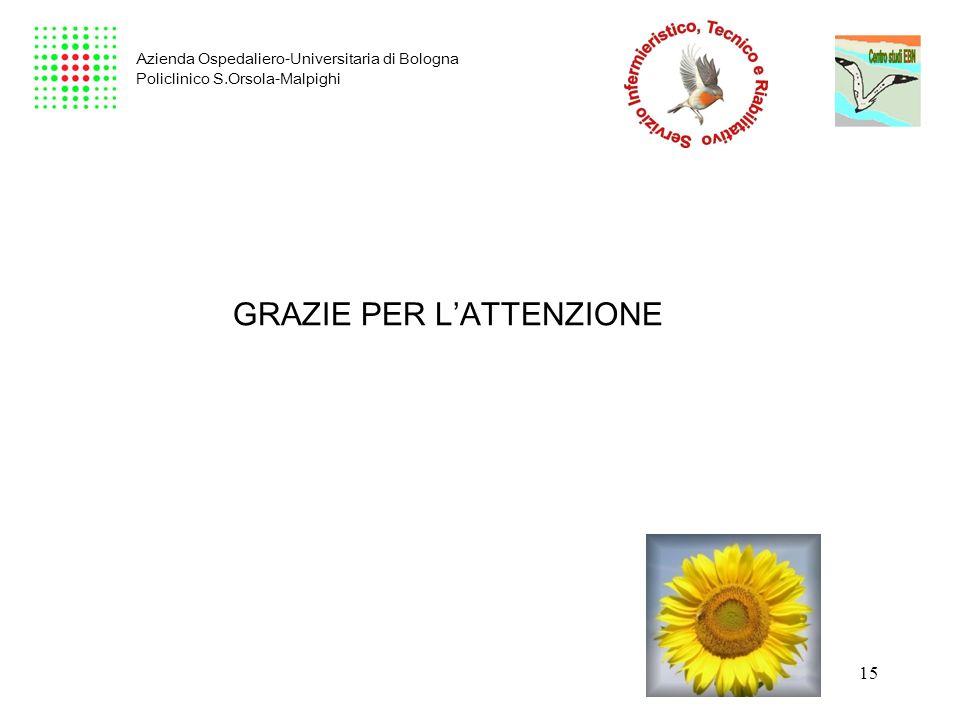 15 Azienda Ospedaliero-Universitaria di Bologna Policlinico S.Orsola-Malpighi GRAZIE PER LATTENZIONE