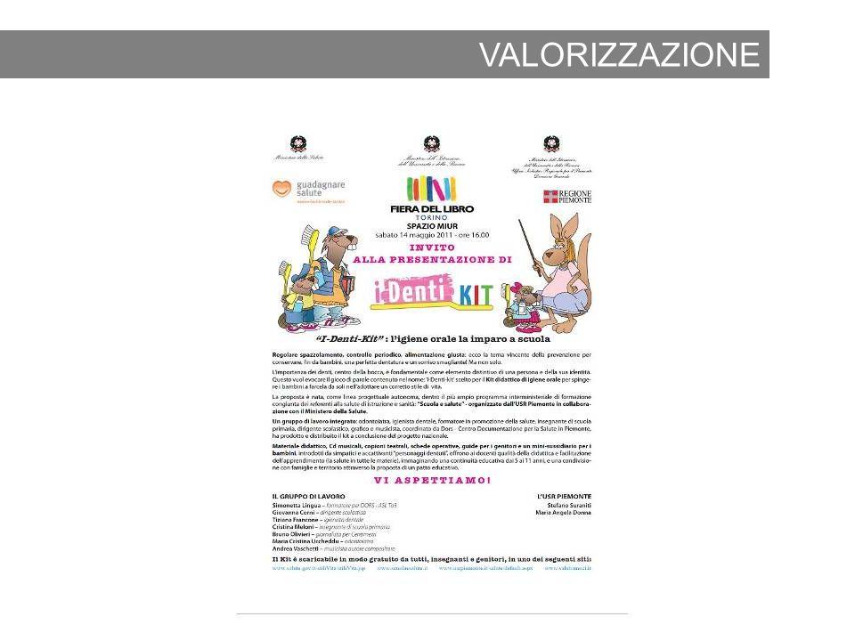 VALORIZZAZIONE 2011 Fiera del libro di Torino