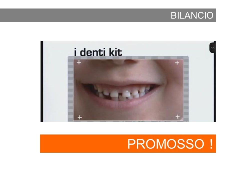 BILANCIO PROMOSSO !