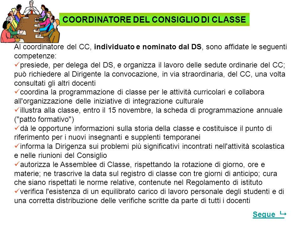 CIASCUN CONSIGLIO DI CLASSE… … si impegna, entro il mese di ottobre, a redigere la programmazione dellinsegnamento tenuto conto anche del POF e degli
