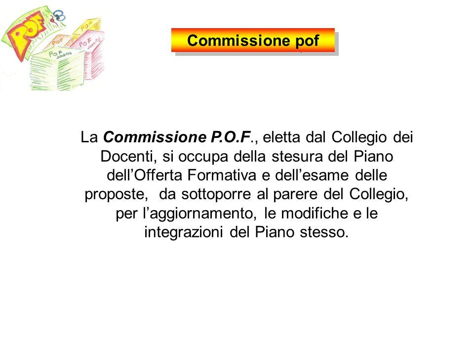 Collegio dei docenti Commissione P.O.F. Commissione valutazione Commissione orientamento Commissione elettorale Commissione servizi agli alunni Commis