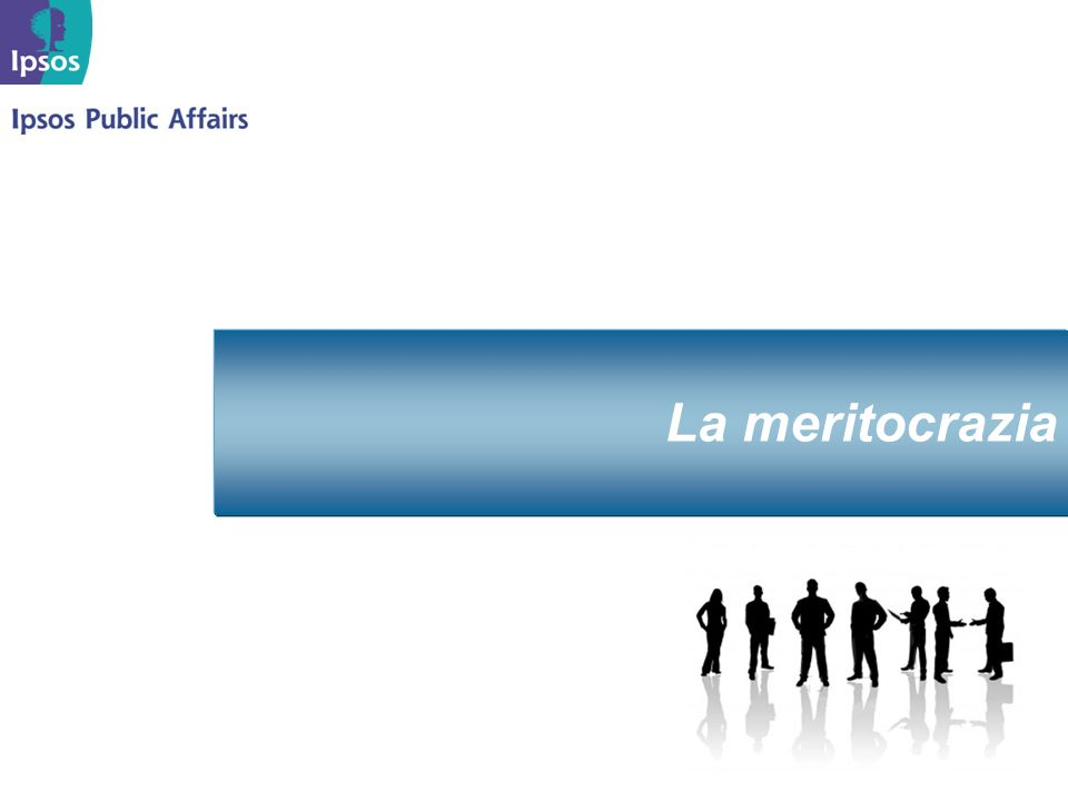 Marzo 2008 La meritocrazia