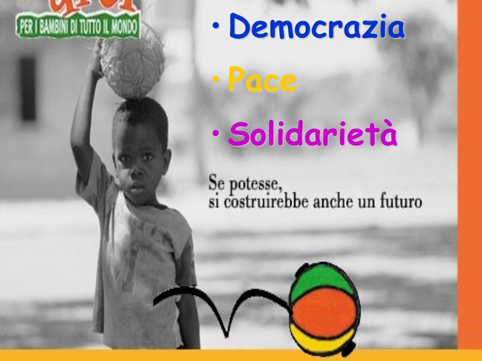DemocraziaDemocrazia PacePace SolidarietàSolidarietà