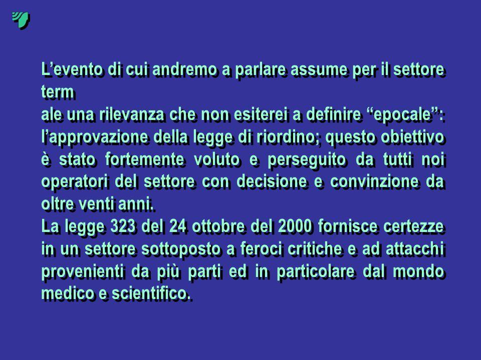 In questi stessi anni il governo italiano si trova ad affrontare un periodo di crisi economica ed è obbligato a prendere alcuni provvedimenti per razionalizzare la spesa pubblica, compresa quella per la sanità.