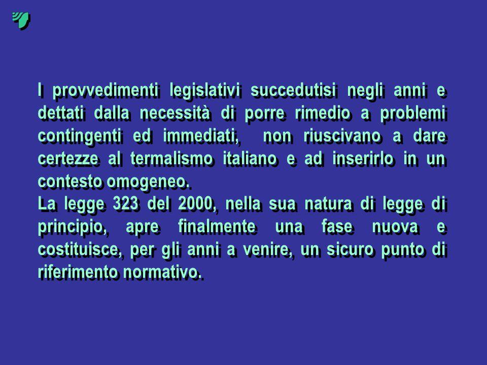 I provvedimenti legislativi succedutisi negli anni e dettati dalla necessità di porre rimedio a problemi contingenti ed immediati, non riuscivano a da