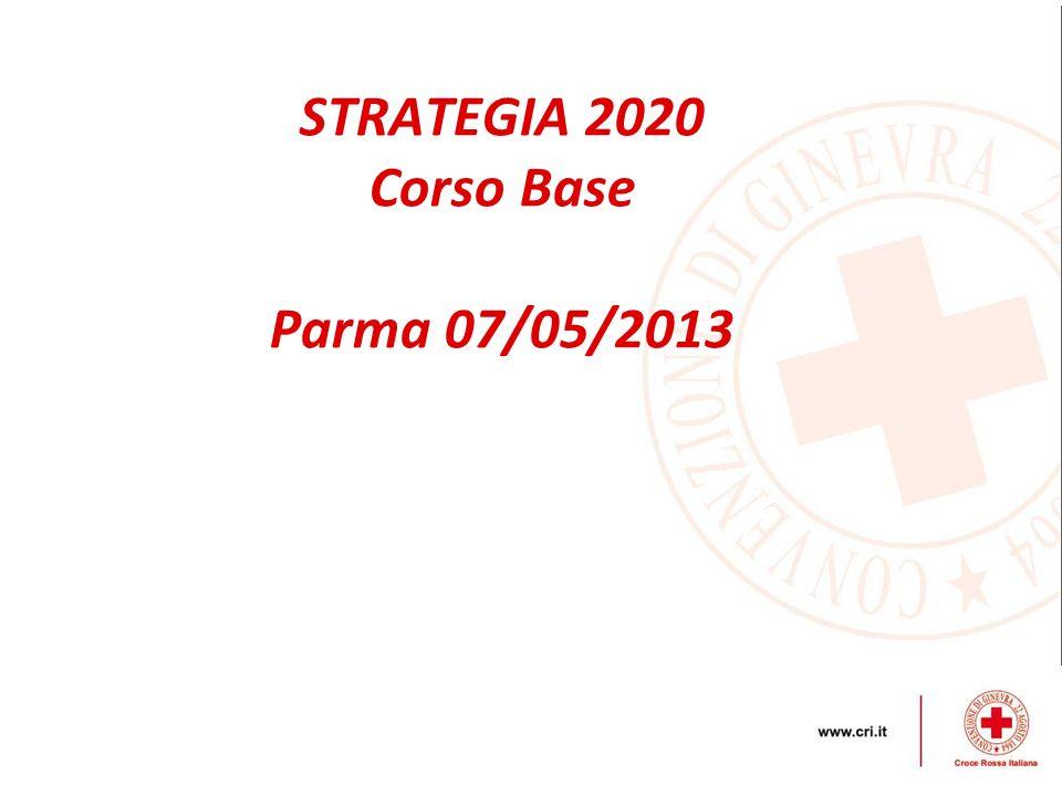 STRATEGIA 2020 Corso Base Parma 07/05/2013