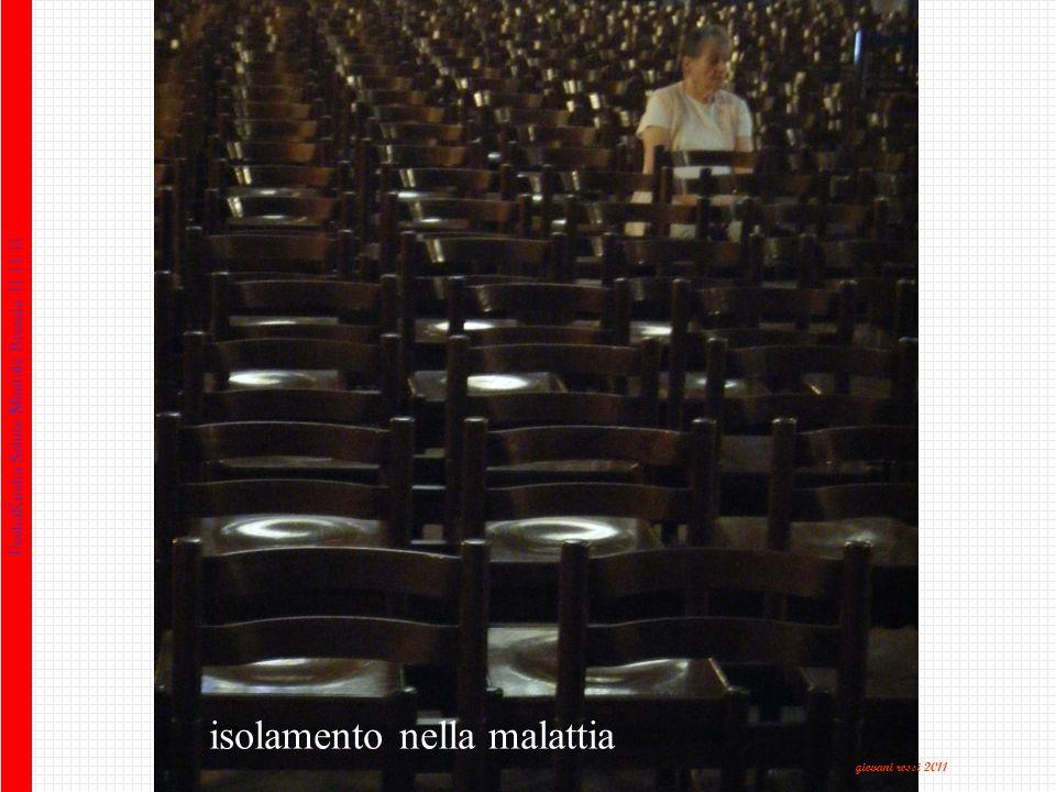 PechaKucha Salute Mentale Brescia 11.11.11 isolamento nella malattia giovani rossi 2011