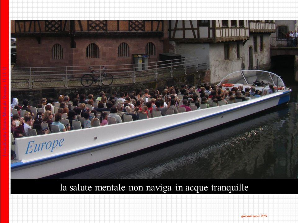 la salute mentale non naviga in acque tranquille PechaKucha Salute Mentale Brescia 11.11.11 giovani rossi 2011