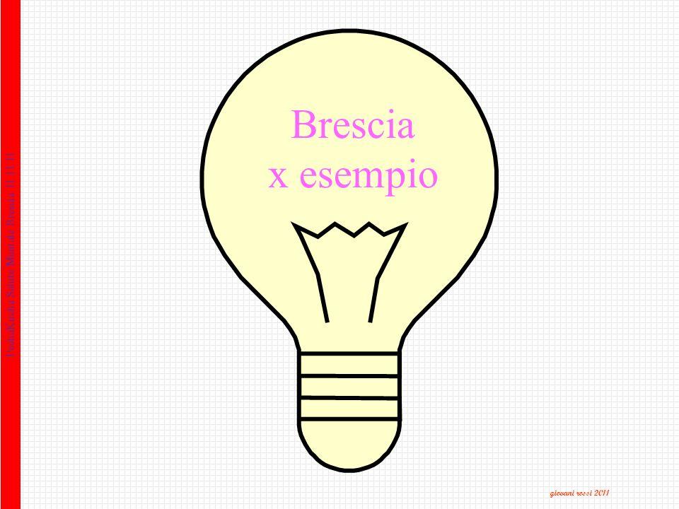 PechaKucha Salute Mentale Brescia 11.11.11 Brescia x esempio giovani rossi 2011